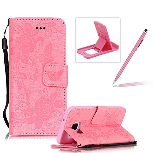samsung-galaxy-s7-strap-lanyard-leather-pu-floral-wallet-caseherzzer-magnetic-flip-case-with-kicksta