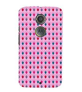 EPICCASE pinky fruits Mobile Back Case Cover For Moto X 2nd Gen (Designer Case)