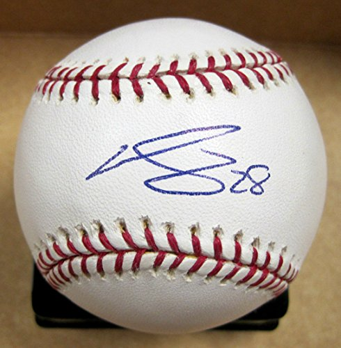 WILLIAM-STARTUP-ATLANTA-BRAVES-SIGNED-AUTOGRAPHED-OML-BASEBALL-WCOA