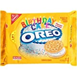 Oreo Golden Birthday Cake Cookies, Limited Edition 2 Pack