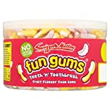 Swizzels Matlow Fun Gums 600 Teeth 'n' Toothbrush