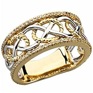 Three-fold Marriage Men's Wedding Band
