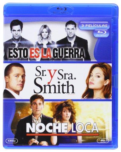 Pack: Esto Es La Guerra + Sr. Y Sra. Smith + Noche Loca [Blu-ray]