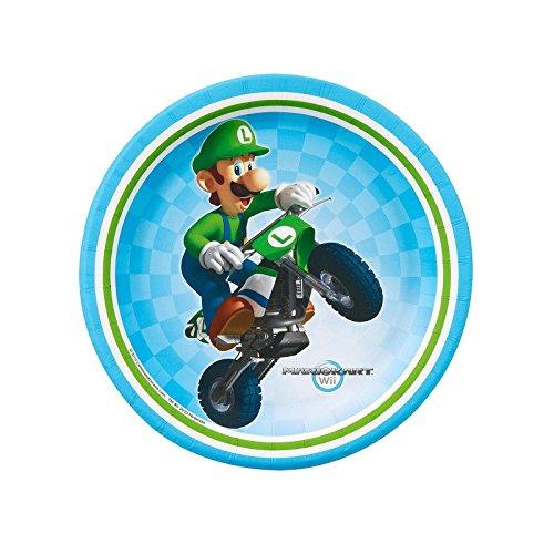 Mario Kart Wii Dessert Plates (8)