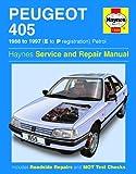 Haynes Peugeot 405 Petrol (88 - 97) E to P Car Maintenance Service Repair Manuals HAYNES MANUAL MANUALS 1559