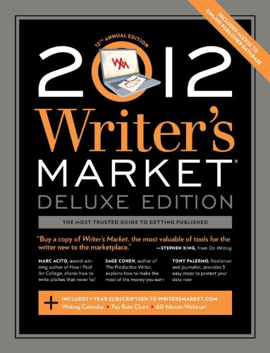 Image for 2012 Writer's Market Deluxe Edition (Writer's Market Online)