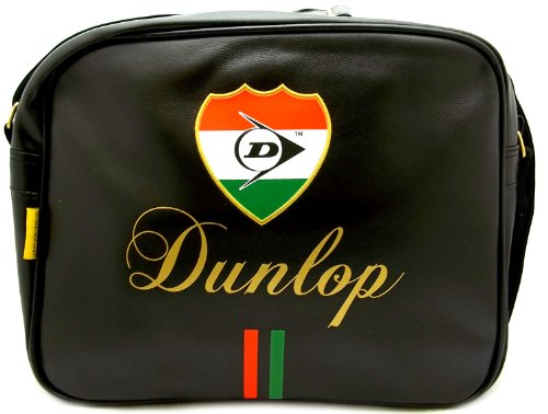 Dunlop Men's Dunis7050blk Synthetic Shoulder Messenger Bag. Trendy vintage design