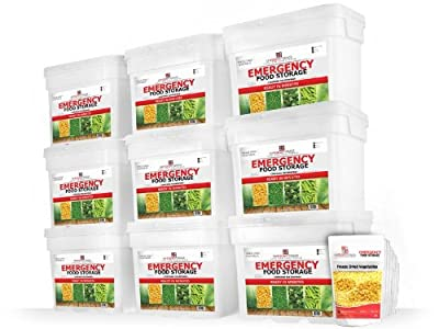 "THE BEST Emergency Food ""My Food Storage"" Delicious Freeze Dried Vegetables - Freeze Dried Long Term Food Storage - Freeze Dried Bulk Vegetables - Freeze Dried Food - Dehydrated Vegetables - Freeze Dried Corn - Freeze Dried Broccoli - Freeze Dried Peas -"