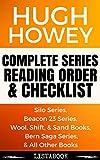 Hugh Howey Series Reading Order & Checklist: Series List in Order - Silo Series, Beacon 23 Series, Bern Saga Series, Molly Fyde Books, Wayfinding Series (Listabook Series Order Book 10)