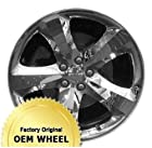 DODGE CHARGER,CHALLENGER 20x8 5 SPOKE Factory Oem Wheel Rim- CHROME CLAD - Remanufactured