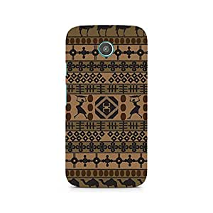 Ebby African Impulse Premium Printed Case For Moto G2