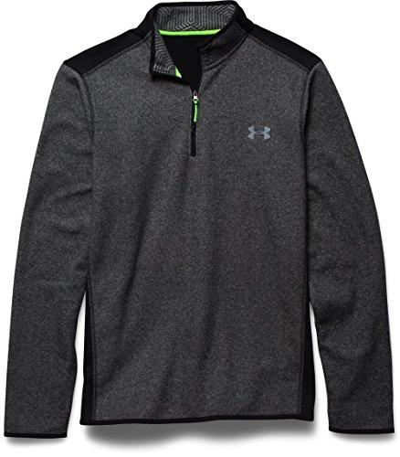 under-armour-cgi-performance-mens-fitness-sweatshirt-1-4-zip-black-blk-stl-sizel