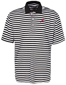 Oxford NCAA Alabama Crimson Tide Mens Y D Veri Cool Bar Stripe with Wicking by Oxford