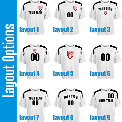 69570b966 Custom USA Soccer Jersey Personalized with Your Names and Numbers ...