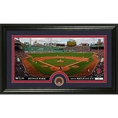 MLB Boston Red Sox Infield Dirt Coin Panoramic Mint Photo by Bullion International