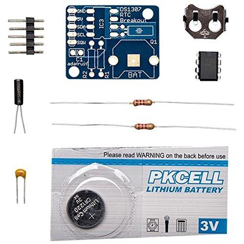 Adafruit Ds1307 Real Time Clock Breakout Board Kit front-1006886