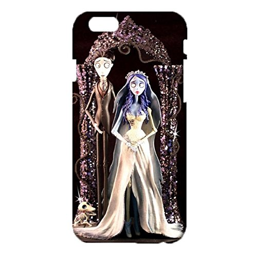 Breathable Watertight Tim Burton'S Corpse Bride 3D Pattern Cover Case Snap on iPhone 6/6s 4.7 (Inch) Legendary Animation Phone Case (Buss Mobile Phone compare prices)
