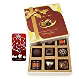 Chocholik Belgium Chocolates - 9pc Special Love Combo Wishes With With 3d Mobile Cover For IPhone 6 - Diwali Gifts