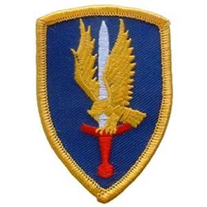 "U.S. Army 1st Aviation Brigade Patch Blue & Yellow 3"""