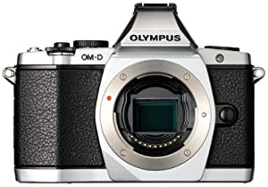 Olympus OM-D E-M5 16MP Live MOS Interchangeable Lens Camera with 3.0-Inch Tilting OLED Touchscreen [Body Only] Silver (Discontinued by Manufacturer)