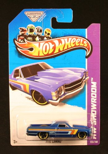 Hot Wheels Hw Showroom 2013 '71 El Camino - 1