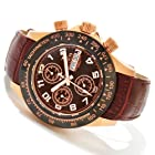 Invicta Reserve Men's Speedway Elegant Automatic Swiss Valjoux 7750 Leather Strap Watch 10943