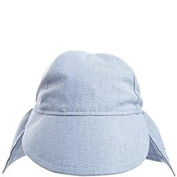 Flap Happy Upf 50+ Flap Hat, Chambray, Medium