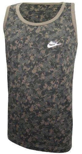 Nike Vest Top Sleeveless Tshirt Como Plaque