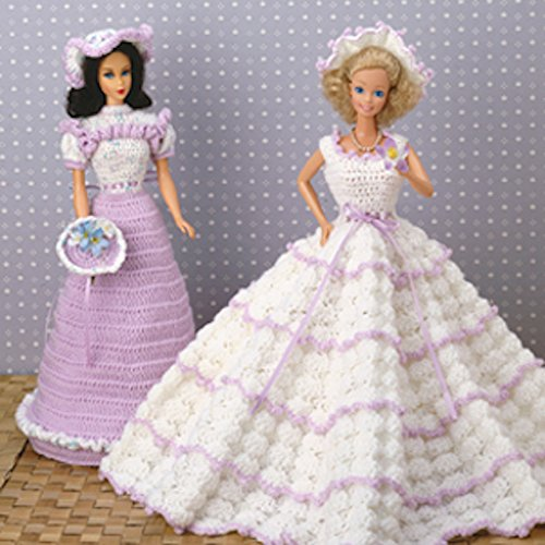 Fashion Doll Formals Crochet ePatterns