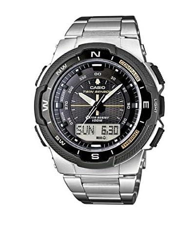 Casio Reloj Sports Plateado 47 mm