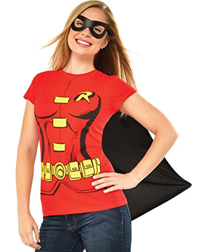 Rubie's Costume Co Women's Dc Comics Robin T-Shirt