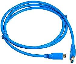 chetan USB 3.0 Hard Disc Copper Cable (Blue)