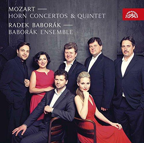 モーツァルト : ホルン協奏曲 (室内楽版) (Mozart : Horn Concertos & Quintet / Radek Baborak & Baborak Ensemble) [輸入盤] [日本語帯・解説付]