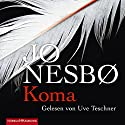 Koma Audiobook by Jo Nesbø Narrated by Uve Teschner