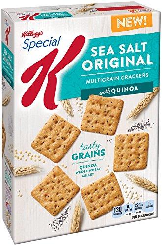 Special K Kellogg's Multigrain Crackers, Sea Salt, 8 Ounce (Multigrain Sea Salt compare prices)