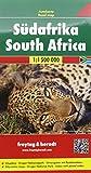 Sudáfrica, mapa de carreteras. Escala 1:1.500.000. Freytag & Berndt.