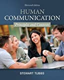 img - for Human Communication: Principles and Contexts 13th edition by Tubbs, Stewart (2012) Paperback book / textbook / text book