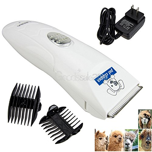 Low-noise Electric Animal Pet Dog Cat Hair Trimmer Shaver Razor Grooming Clipper (Hood Hair Drier compare prices)