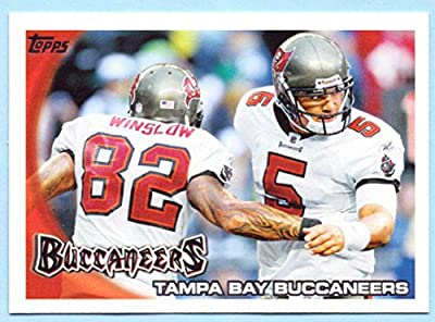 Josh Johnson, Kellen Winslow Jr. 2010 Topps Tampa Bay Buccaneers Team Card #56