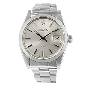 Rolex Datejust mechanical-hand-wind silver mens Watch 6694 (Certified Pre-owned)