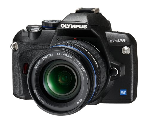 Olympus E-420 DSLR Camera With 14-42mm lens