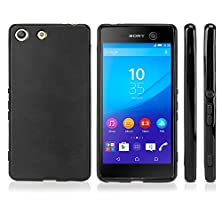 buy Sony Xperia M5 Case, Boxwave® [Blackout Case] Durable, Slim Fit, Black Tpu Cover For Sony Xperia M5