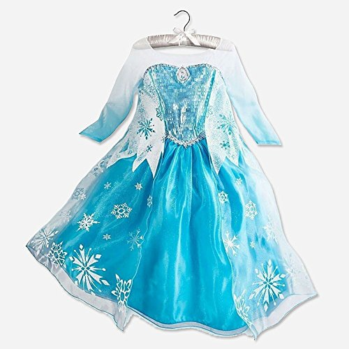 Kids Girls Dresses Disney Elsa Frozen Dress Costume Princess Anna Party Outfit
