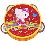 Hello Kitty Sanrio Mini Tambourine Kid Size - Yellow