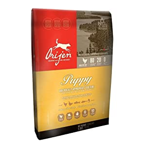 Orijen Puppy Dry Food 80/20 Formula - .75 lb. Trial Bag