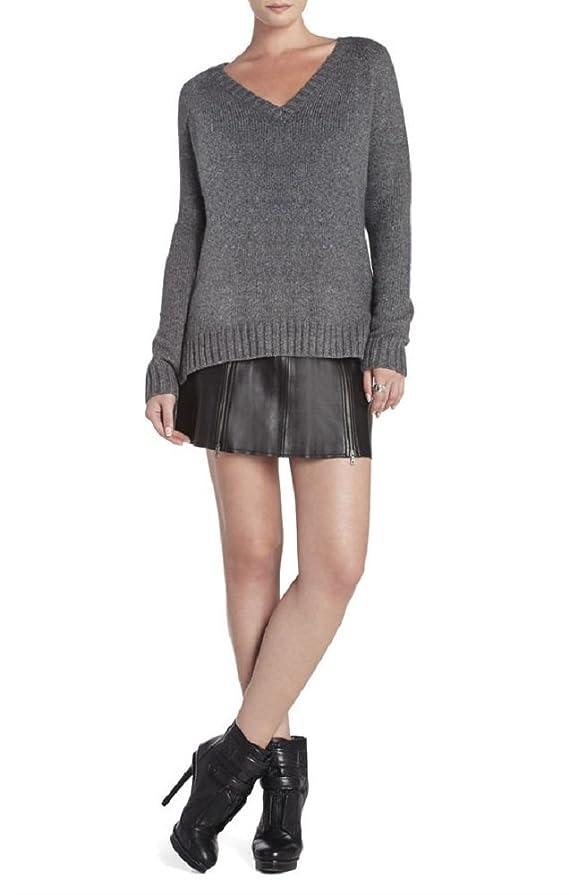 BCBGMAXAZRIA Women's Masha V-Neck Pullover Sweater