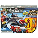 Marvel the Avengers Quinjet Vehicle Toy W/2 Figures