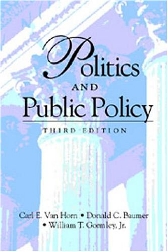 Politics and Public Policy (Paperback)