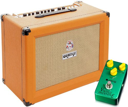 Orange CR60C 60 Watt 1x12 Combo Guitar Amplifier w/ Vintage Overdrive Pedal