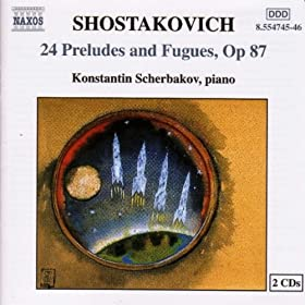 24 Preludes and Fugues, Op. 87: Prelude No. 14 in E flat minor: Adagio